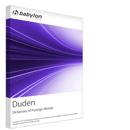 Duden - Dictionary of Foreign Words