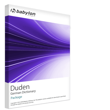 Duden - German Dictionary Package