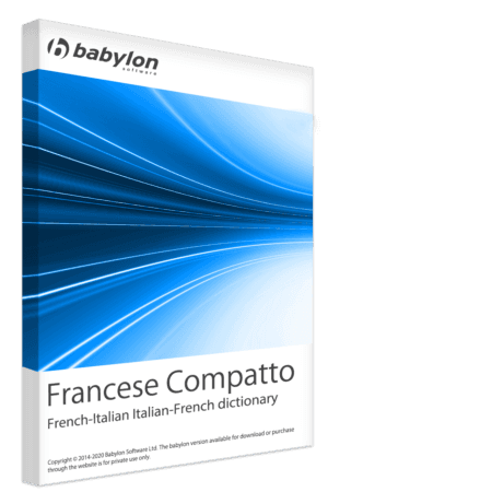 Francese compatto - French-Italian Italian-French