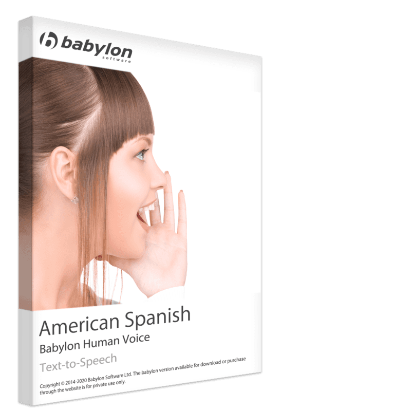 American Spanish Text to Speech