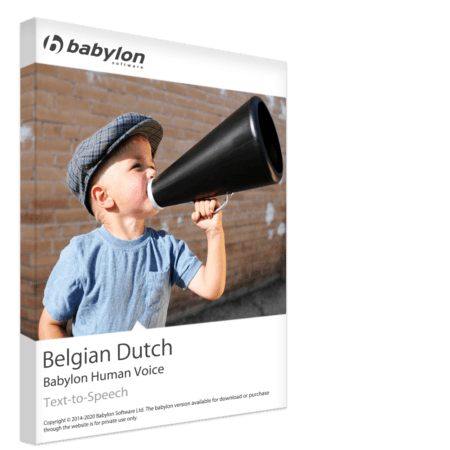 Belgian Dutch Text to Speech