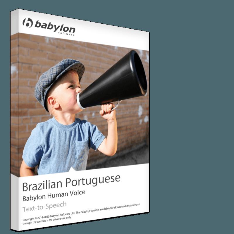 Brazilian Portuguese Text to Speech