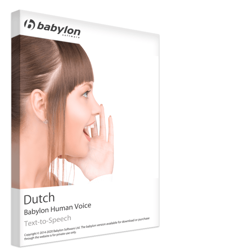 Dutch Text to Speech