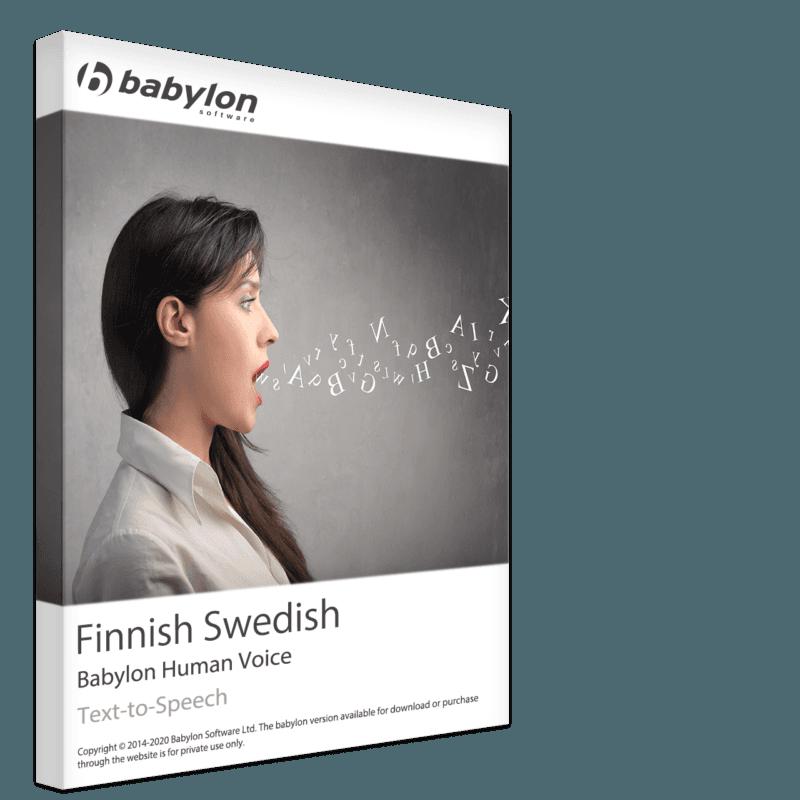 Finnish Swedish Text to Speech