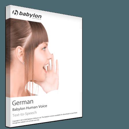 Sintesi vocale tedesca