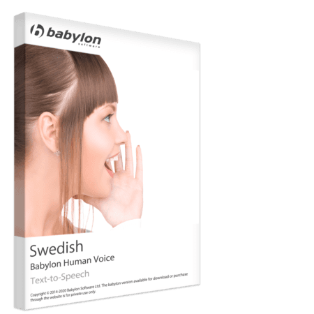 Swedish Text to Speech