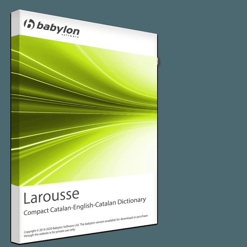 Larousse Compact Catalan-English-Catalan