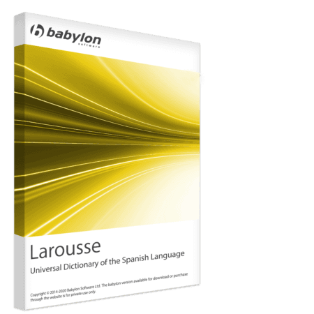 Larousse Universal Dictionary of the Spanish Language