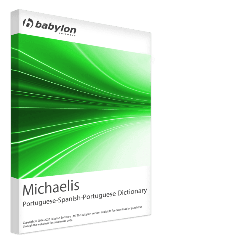 Michaelis Portuguese-Spanish-Portuguese Bidirectional Dictionary