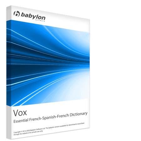 Vox Essential French-Spanish-French Dictionary