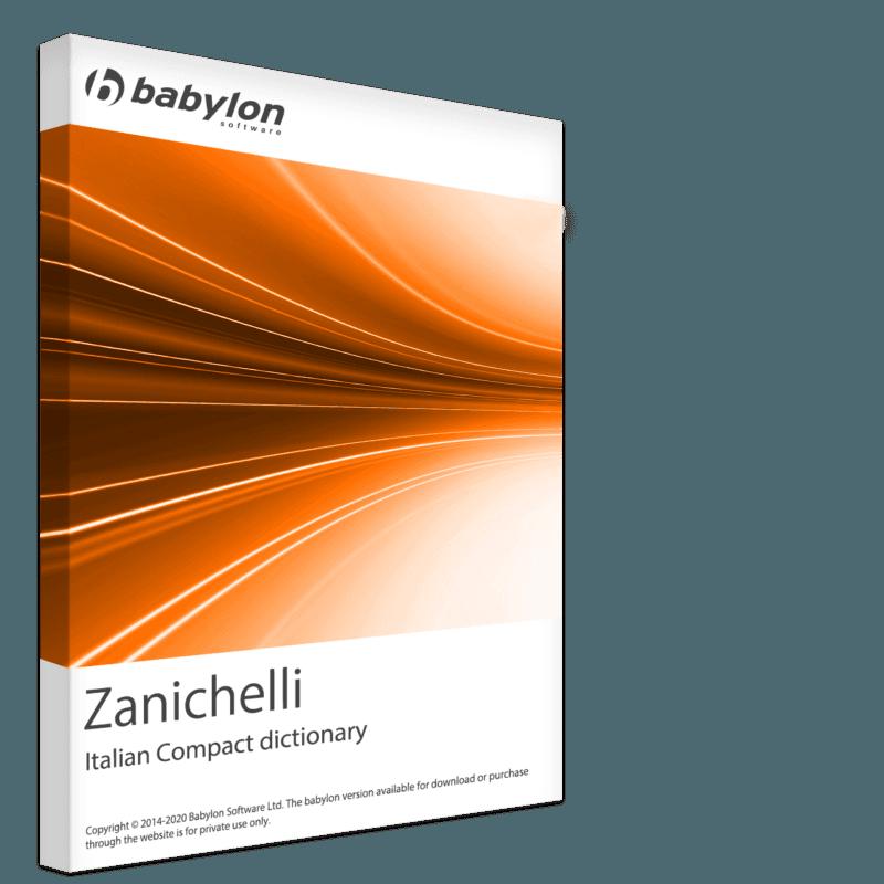Zanichelli - Italian Compact dictionary