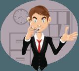 Business Salesman